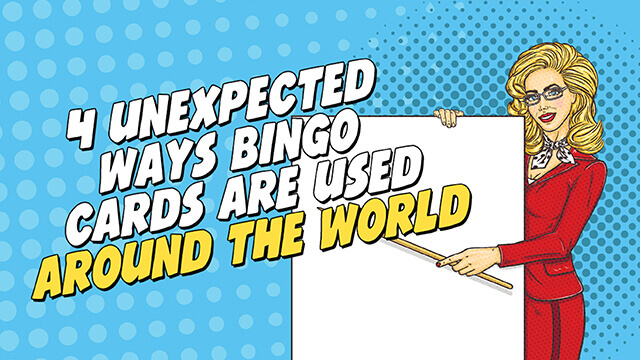 4 Ways bingo cards are used around the world