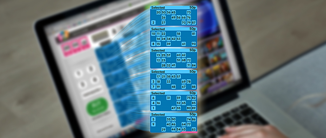 90 ball bingo automatic tickets selection