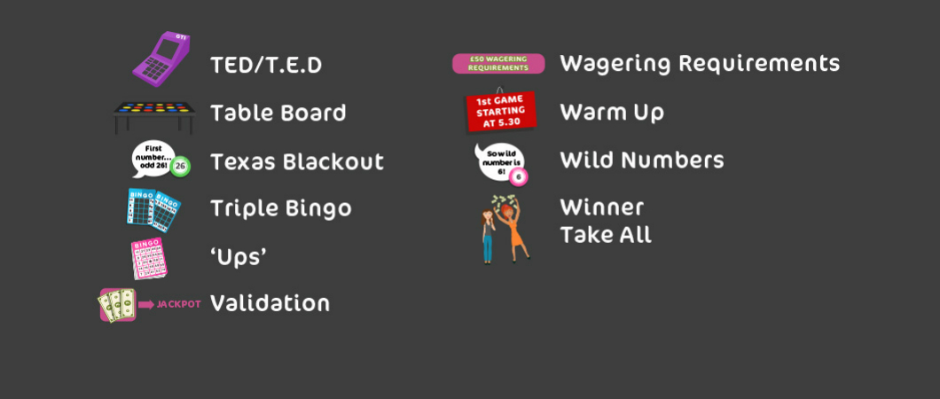 ultimate bingo dictionary