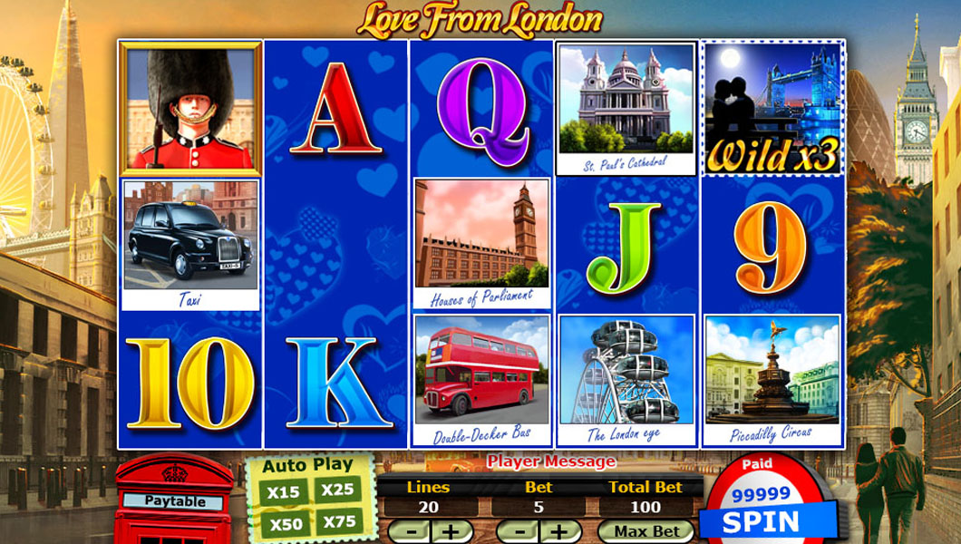 love from london online slot