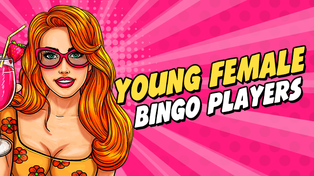 Young Female Bingo Players